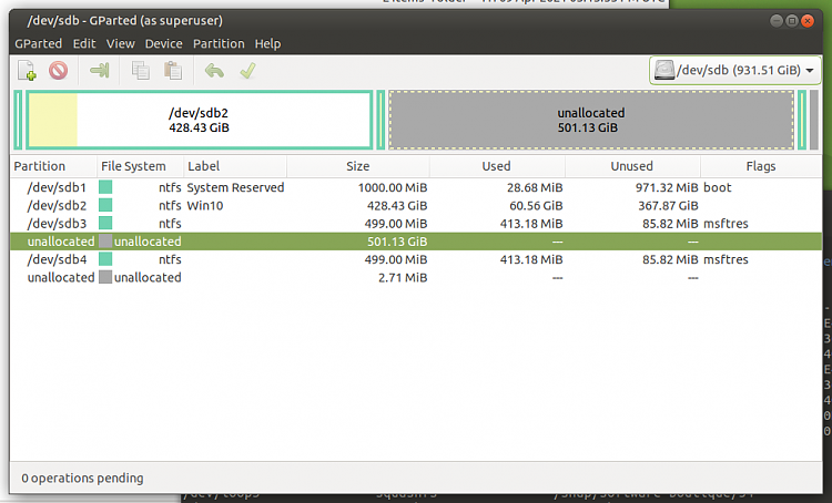 Macrium Reflect Free adds a second Recovery partition when I restore-screenshot-hdd-disk-1.png