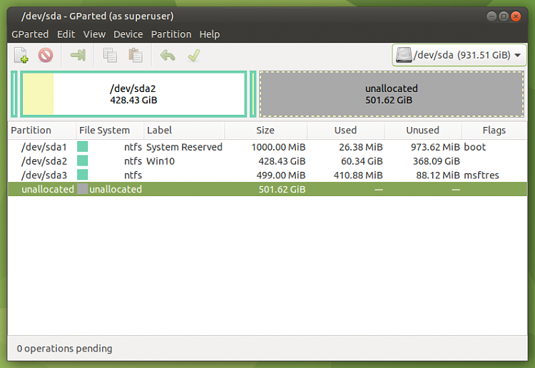 Macrium Reflect Free adds a second Recovery partition when I restore-screenshot-dev-sda.png