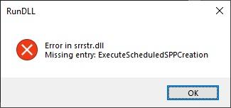 System Restore - 'Turn on System Restore' is Greyed Out-rundll-error.jpg