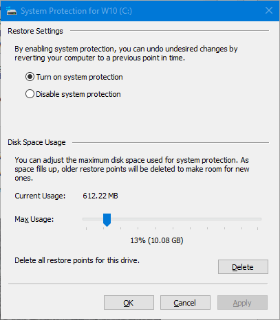 System Restore Point Keeps Growing-sr-config-usage-612.png