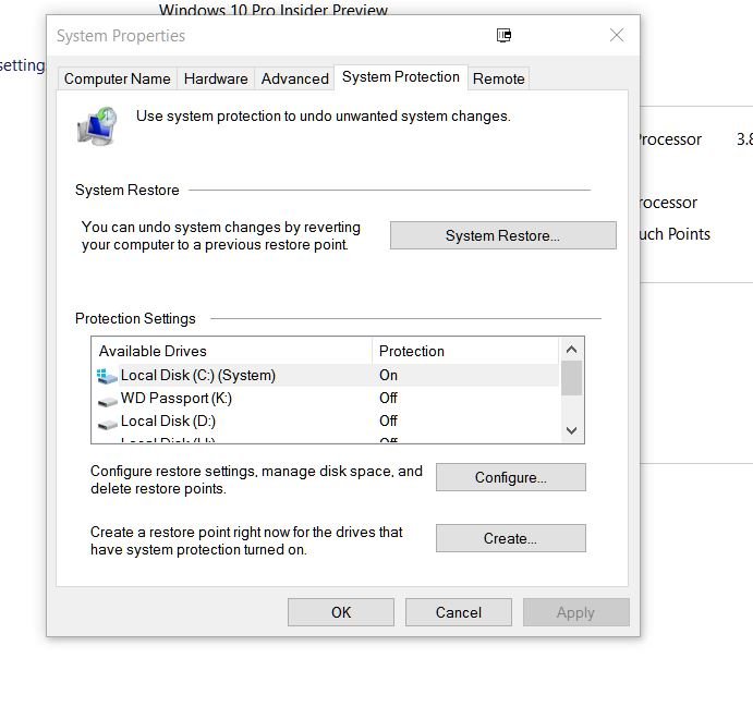 System restore disabled by group policy xp