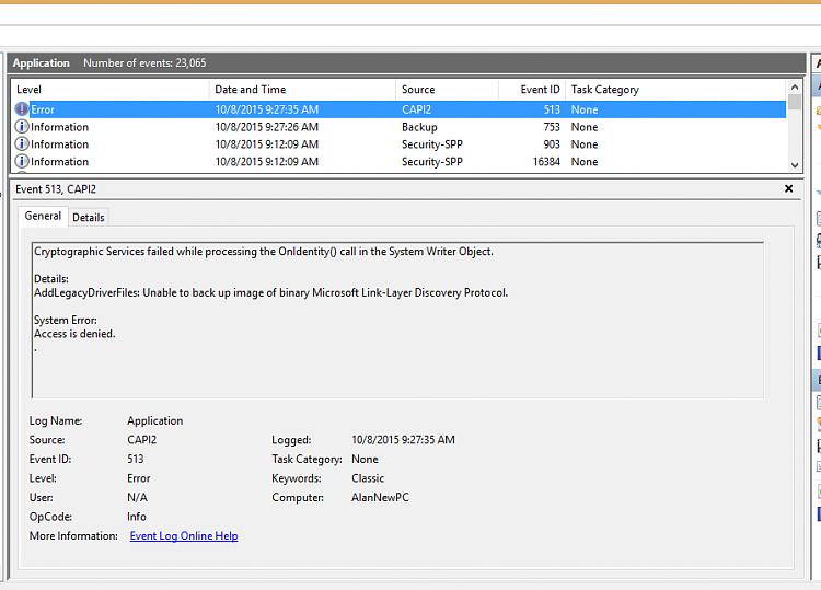 Windows 10 Backup Creation: Error (0x80070422)-backuperror.png