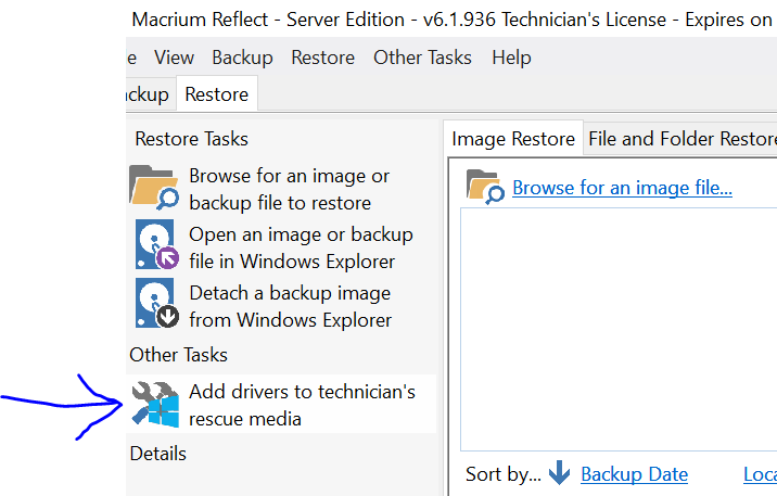 Macrium reflect doesn't find RAID HDD's for RESTORE but SEES on BACKUP-macrium1.png