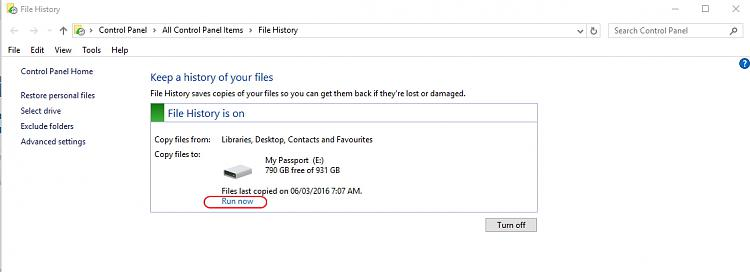 Click image for larger version.  Name:File History .... files backup.jpg Views:2 Size:125.4 KB ID:83051