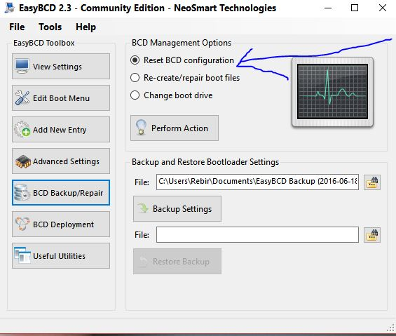 Acronis Changed Uefi Boot On Dell   How To Undo