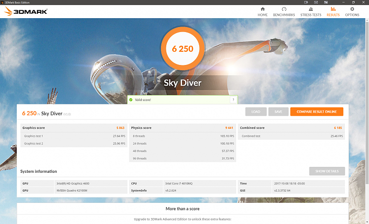 Click image for larger version.  Name:3D Mark Sky Diver.PNG Views:2 Size:1.51 MB ID:157140