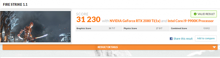 3D Mark Firestrike Benchmark - Page 112 - Windows 10 Forums