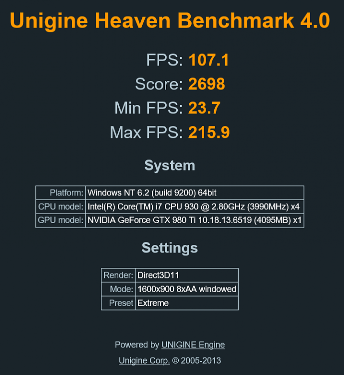 Heaven extreme stock run.PNG