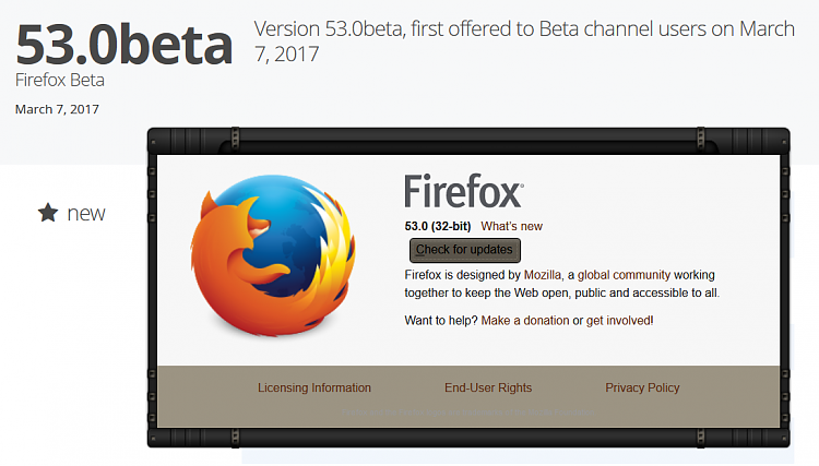 Latest Firefox Released for Windows - Page 44 - Windows 10 Forums