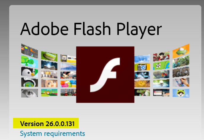 Latest Version of Adobe Flash Player - Windows 10 Forums