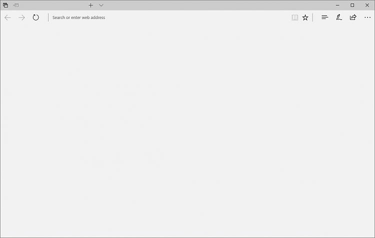 Edge showing blank space and address bars, crash after few seconds-edgeblank.jpg