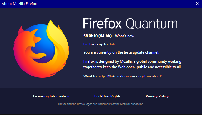 Latest Firefox Released for Windows - Page 80 - Windows 10 Forums