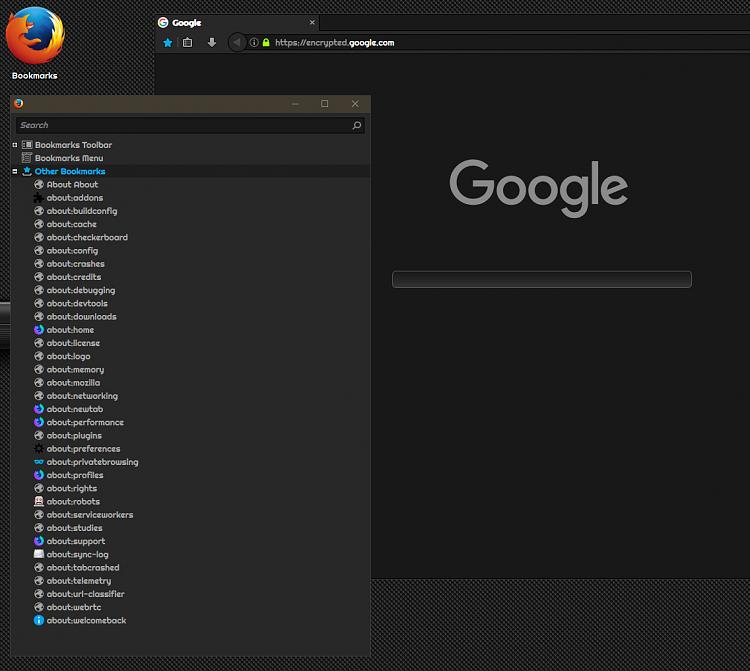 Firefox - Make Desktop Shortcut to Library /