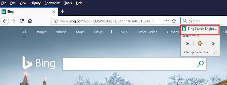 Firefox Keeps Re-enabling Bing Solved - Page 6 - Windows 10