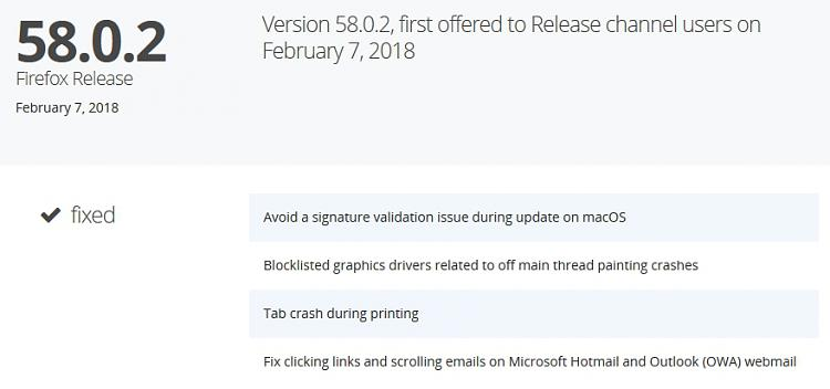 Latest Firefox Released for Windows - Page 106 - Windows 10