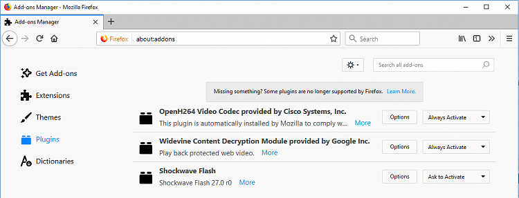Latest Firefox Released for Windows-ff-58-0-2-plugins.png