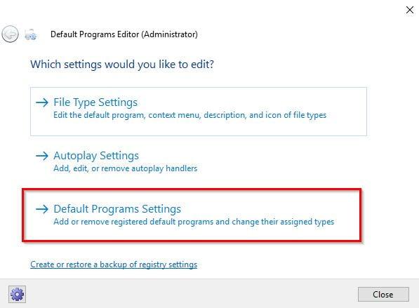 Click image for larger version.  Name:Default Programs Editor (Administrator).jpg Views:15 Size:31.9 KB ID:181841