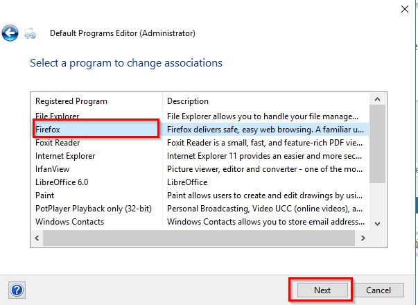 Click image for larger version.  Name:Default Programs Editor (Administrator) 2.jpg Views:83 Size:46.7 KB ID:181842