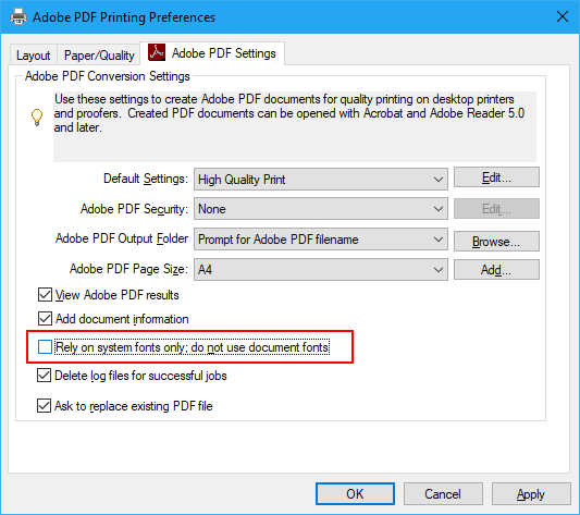 Click image for larger version.  Name:Adobe PDF Printing Preferences.png Views:23 Size:29.2 KB ID:182045
