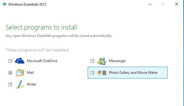 install windows live mail 2012