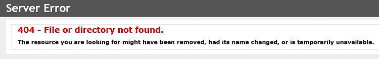 Click image for larger version.  Name:404 server error.jpg Views:7 Size:65.1 KB ID:191401
