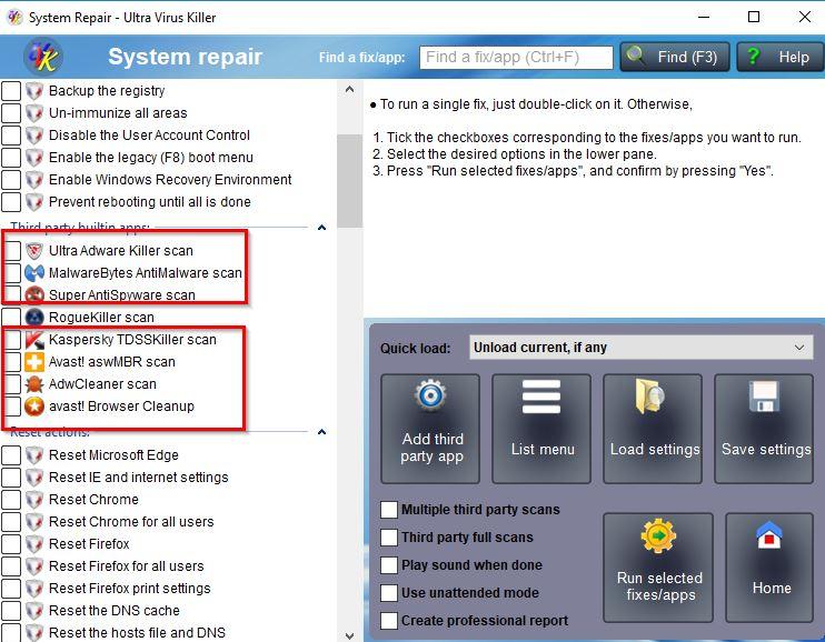 Click image for larger version.  Name:System Repair - Ultra Virus Killer.jpg Views:37 Size:96.5 KB ID:193846