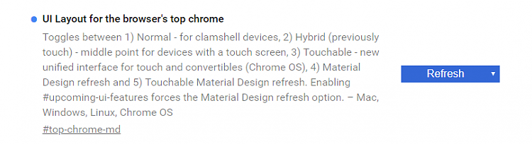 Latest Google Chrome released for Windows-dev-button.png
