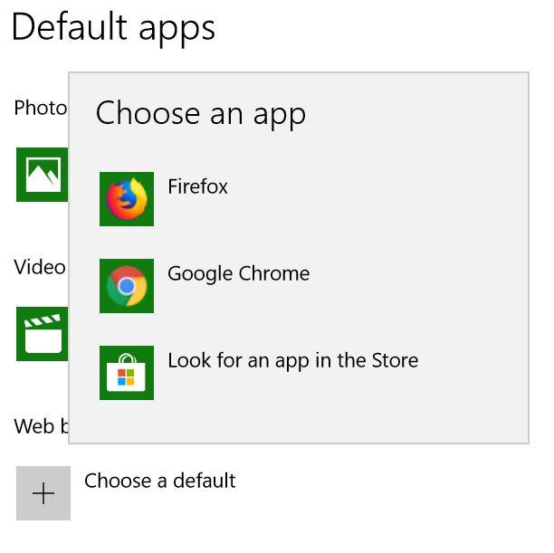 Cannot set Edge as default browser | Windows 10 - Windows 10