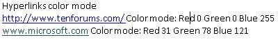 Click image for larger version.  Name:Hyperlinks color mode.JPG Views:49 Size:16.3 KB ID:198246