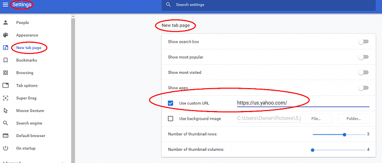The Plus function /new tab has changed, it does not take me to yahoo-001544.png
