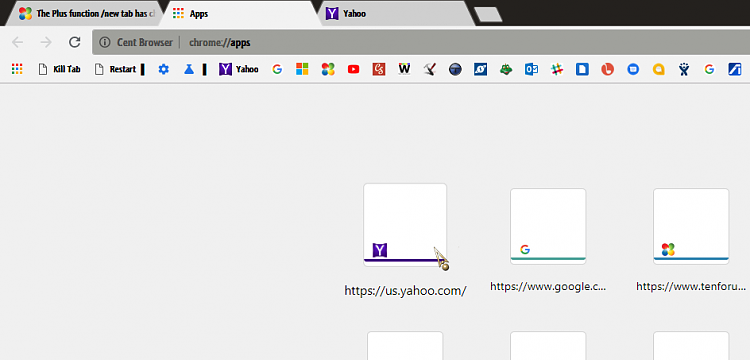 The Plus function /new tab has changed, it does not take me to yahoo-001624.png