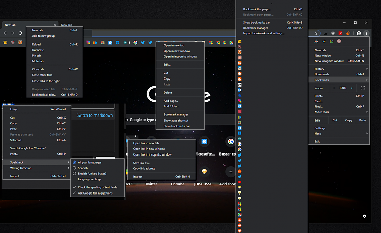Latest Google Chrome released for Windows-menus-now-vs-33.png