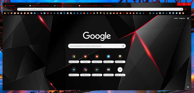 Latest Google Chrome released for Windows-black-red-bef.png