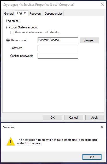 establishing secure connection chrome slow