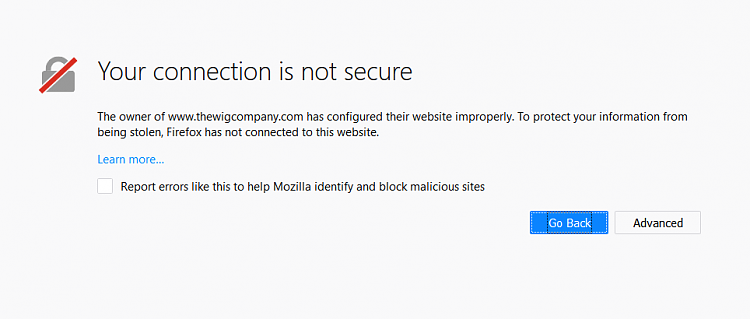 Page that says: Your connection is not private-firefox-error-wigs.png