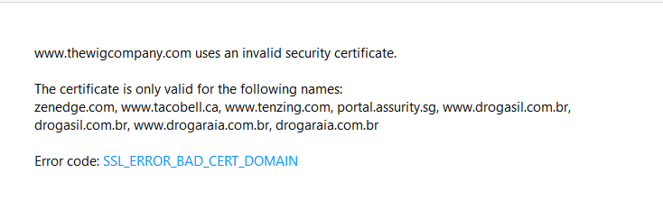 Page that says: Your connection is not private-firefox-wigs-error.png