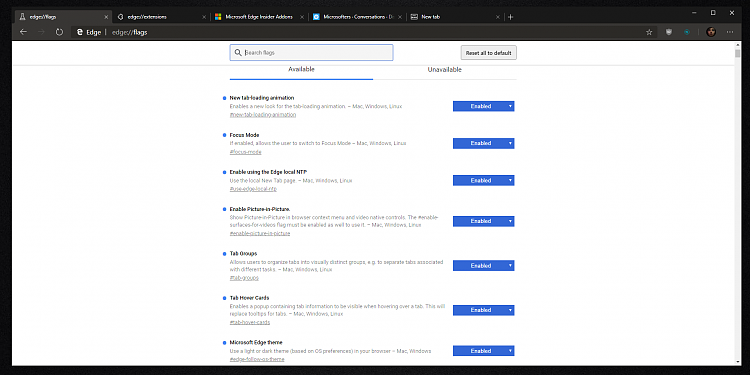 Microsoft's new Chromium Edge browser leaked online  - Windows 10 Forums