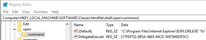 Removed IE and now I cannot open hyperlinks in Outlook 2010-hyperlinks-problem-registry-key.png