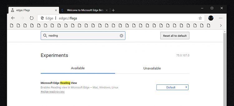 Microsoft Edge Insider preview builds are now ready for you to try-reading-107.png