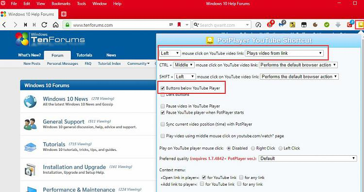 Youtube - Double tap FF ?? - Windows 10 Forums