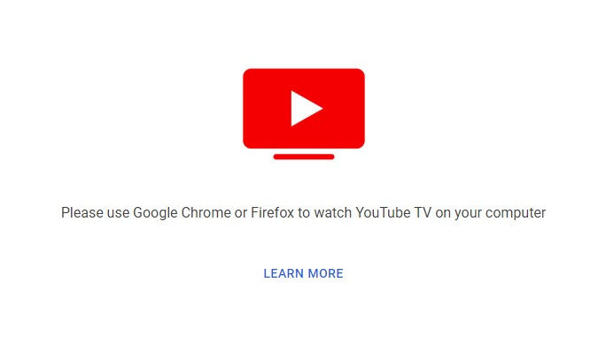 Youtube Tv On The New Edge Solved Windows 10 Forums