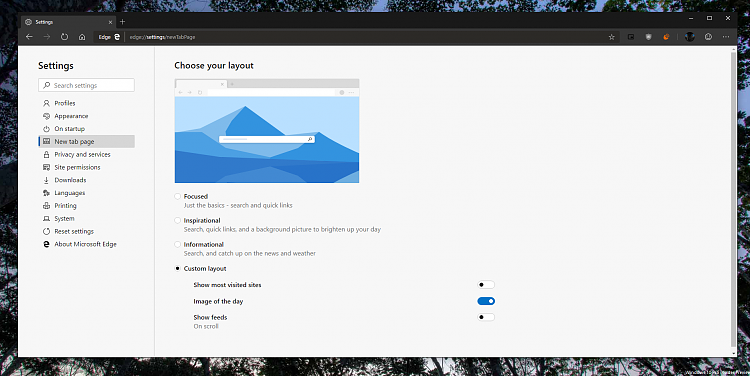 Microsoft Edge Insider preview builds are now ready for you to try-ntp.png