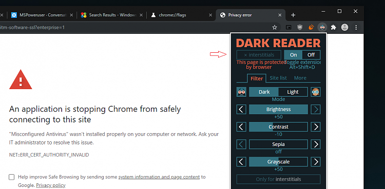 Latest Google Chrome released for Windows-inter-flag-off.png