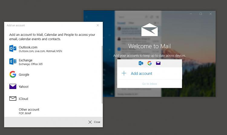 Windows 10 Mail app ignoring email accounts - Windows 10 Forums
