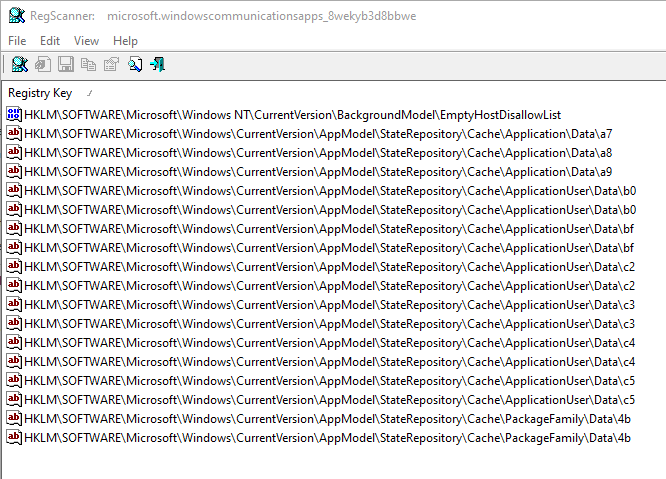 error 0x8007042b when adding a Yahoo Mail account to MS Mail App-regscanner_mh0d1lzlog.png