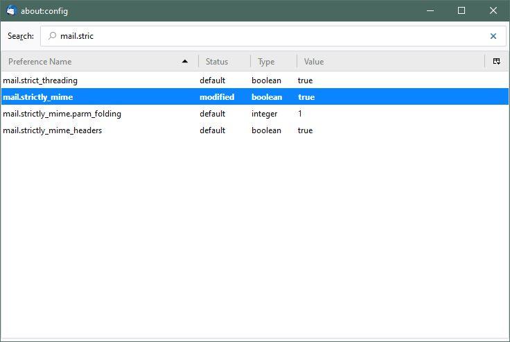System Files Thunderbird Support Forum