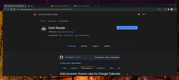 Latest Google Chrome released for Windows-flag-dark-chrome-store.png