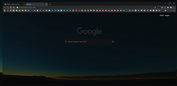 Latest Google Chrome Released for Windows-ntp-canary-22.png
