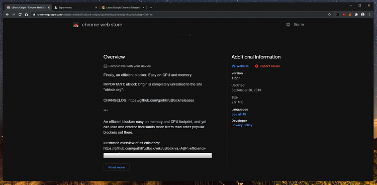 Latest Google Chrome released for Windows-cws-22.png