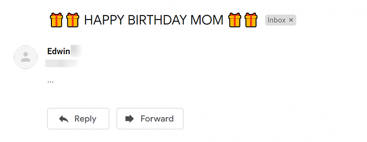 How can I enter brightly colored text in the subjeclt line of my email-003261.png